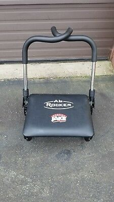 ab rocker chair swivel and footstool body by jake fitness work out seat as seen on tv