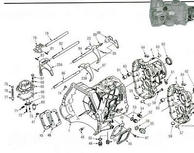 MITSUBISHI V5A51 AUTO Transmission Gearbox Workshop