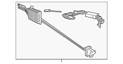 GENUINE OEM FORD Wiring Assembly Tow Package Wiring