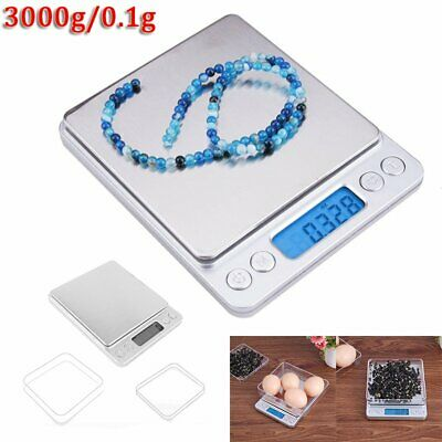 Electronic Kitchen Scale 3kg 3000g / 0.1g High Precision Digital Scale