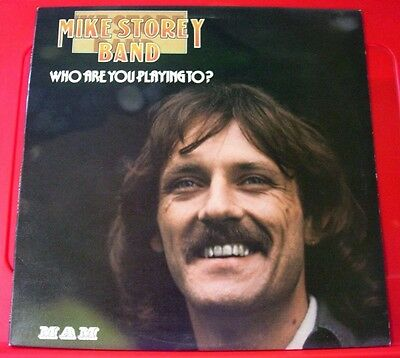 Michael/Mike Storey Band Who Are You Playing To? LP UK ORIG 1975 MAM VINYL