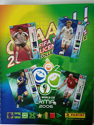 Panini Fifa GOAAAL! 2006 World Cup Germany 06 WC WM Trading Cards select aussuch