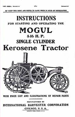 IHC 1.5 3 & 6 HP Gas Kerosene Engines International
