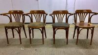 BENTWOOD CAPTAIN Dining Chairs. Mid Century Vintage - Sold ...