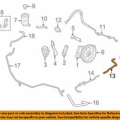 Honda Power Steering Diagram Baldor 3 Phase Motor Wiring Oem 11 17 Odyssey Suction Hose 53731tk8a00 Return 53734tk8a01