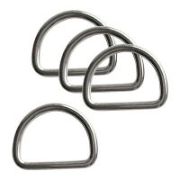 HEAVY DUTY 316 Stainless Steel Dive Scuba Bent D Ring Fits ...