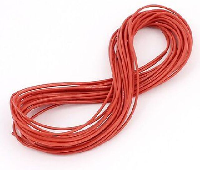 Gauge 120ft Soft Flexible Silicone Wire Servo Wire Black Red Blue