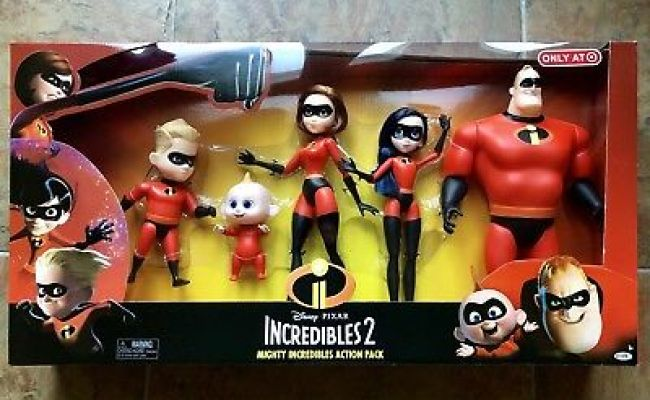 Incredibles Disney Tv Movie Character Toys Toys