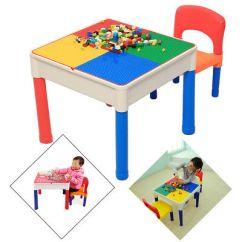 Spiderman Table And Chairs Toddler Upholstered Chair Canada Kids Folding Activity Play Set Marvel Child Tutors Furniture Toy Building Block