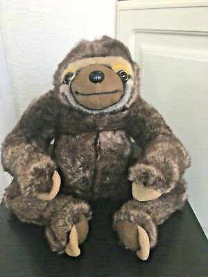 neal sofaworks teddy how to make a sofa slipcover without sewing sofology neil the sloth soft toy plush collectable brown