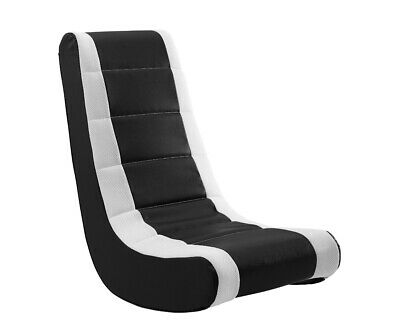 kids gaming chairs silver metal outdoor rocker chair video game seat rocking furniture red white adult teen
