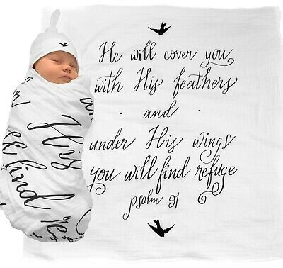 baby swaddle scripture blanket