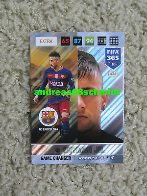 PANINI ADRENALYN XL FIFA 365 - 2017  NEYMAR JR. Game Changer - NORDIC EDITION