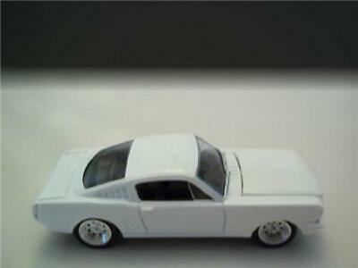 Comes in a blister pack. Johnny Lightning 1 64 Scale Loose Blank White 1965 Ford Mustang 2 2 Fastback 935 Contemporary Manufacture Diecast Toy Vehicles