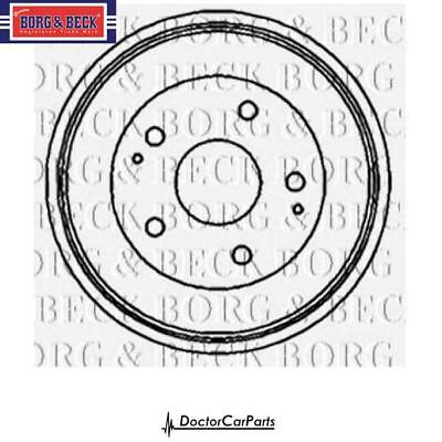 BRAKE DRUM 1X Rear for SUBARU LEGACY 2.0 2.2 94-98 NO ABS