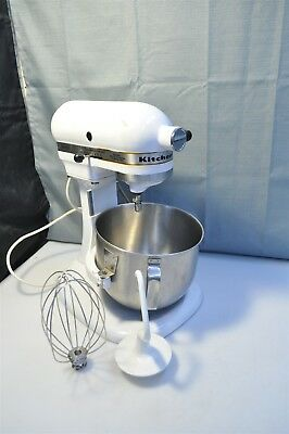 kitchen aid k5ss cabinets discount vintage kitchenaid by hobart stand mixer w attachments works