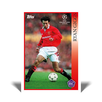 Topps The Lost Rookie Cards - Ryan Giggs - Manchester United - RC Rookie