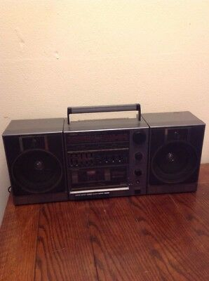 vintage fisher boombox stereo