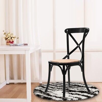 black cross back dining chairs massage for less chair set of 2 unique solid wooden wood rattan home seat
