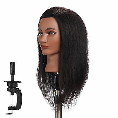 afro american cosmetology mannequin