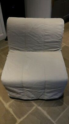 lycksele chair bed bear shop ikea and mattress including beige cover