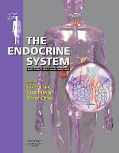 The endocrine system by shern  chew peter  raven joy  also anatomical chart company new book wall rh picclick