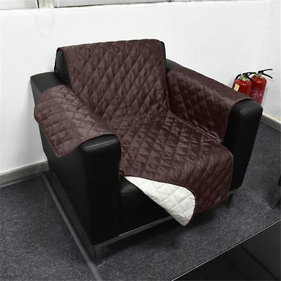 quilted microsuede sofa cover velvet for sale ebay micro suede pet dog couch furniture protector new kashi camel
