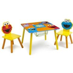 Spiderman Table And Chairs Disposable Chair Covers For Folding Delta Children Kids Desk Set With Storage Bin Marvel Sesame Street Wood Distressed