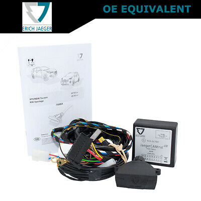 PLUG IN TOWBAR / Trailer Wiring Harness + Relays HYUNDAI