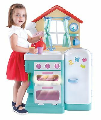 child kitchen set pictures of wood cabinets peppa pig toy children kids play new