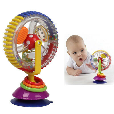 high chair suction toys rocking white wood 8 50 picclick uk fun baby rainbow ferris wheel rattle clanking new