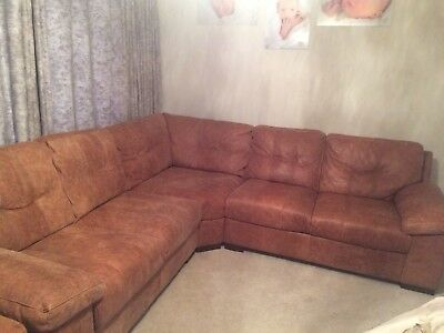distressed leather corner sofa uk small sofas for cottages dfs chair stool 4500 ts19 ready to go