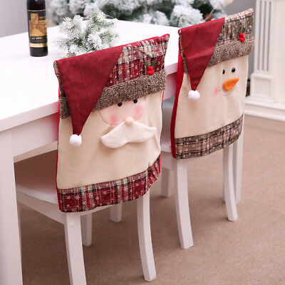 lenox christmas chair covers hanging karachi santa claus 1 dollar bill real money stocking cover snowman decorations for home back