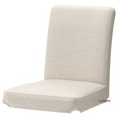 Ikea Linen Chair Covers White Office Chairs South Africa Henriksdal Linneryd Natural Cover New Open Package Fabric Slipcover Beige