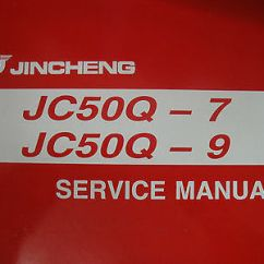 Jincheng Monkey Bike Wiring Diagram 12 Volt Cigarette Lighter Plug Pit Jc50 Q7 Q9 Service Workshop Manual New