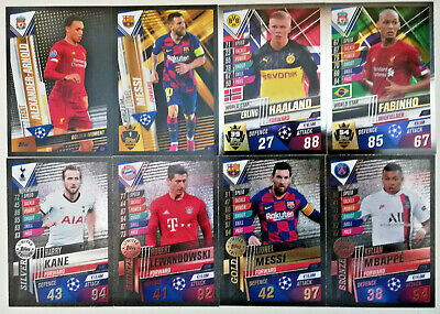 Match Attax 101 2019/20 2020 Limited/ Stars #W1-#W62 100 Club/ Golden Moments