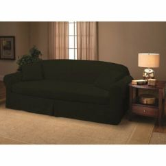 Beach House Sofa Slipcover Corner Sofas Under 200 Sure Fit Stretch Corduroy 2 Piece Tan Sanctuary Suede