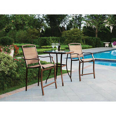 mainstays small outdoor bistro set high