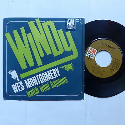 WES MONTGOMERY Windy SAM 511 Pressage France AM Records