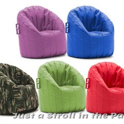 Big Joe Lumin Chair Multiple Colors Bright Colored Desk Chairs Bean Bag Waterproof Lounge New