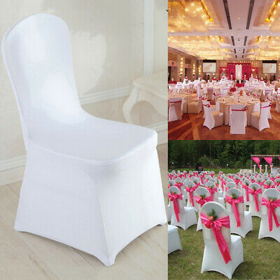 folding chair covers spandex for small dining chairs 50 100 white black fitted wedding party banquet us