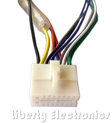 clarion wire harness stereo radio wiring 16-pin plug - $524 picclick