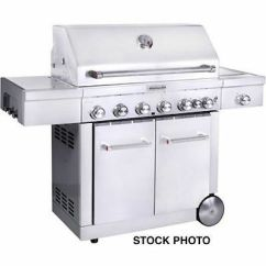 Kitchen Aid Gas Grills Under Cabinet Lighting Kitchenaid 8 Burner Grill 472738 Model 720 0856 V 519 99