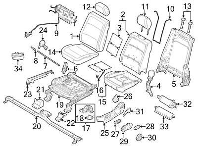 2008-2010 FORD SUPER Duty LH Drivers Side Front Seat