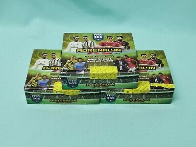 Panini Adrenalyn XL FIFA 365 2021 3 x Display / 72 Booster