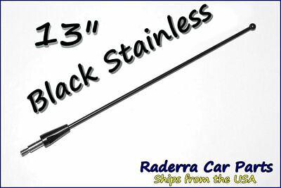 21& BLACK SPRING Stainless AM/FM Antenna Mast Fits: 2009