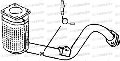 PEUGEOT 307 1.6 Nfu Manual 4 Est Be4R 01-05 Exhaust