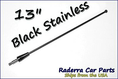 21& BLACK STAINLESS AM FM Antenna Mast FITS: 1997-1999