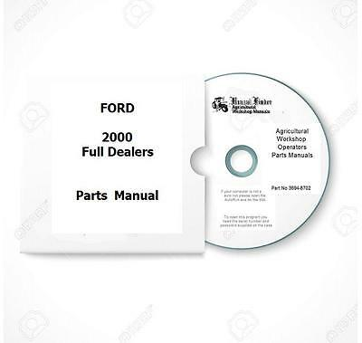 Ford, Tractor Manuals & Publications, Agriculture/Farming