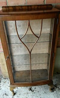 Bevan Funnell Style Mahogany China Glass Display Cabinet ...
